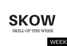 skill of the week week 1