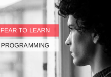 fear to learn programming